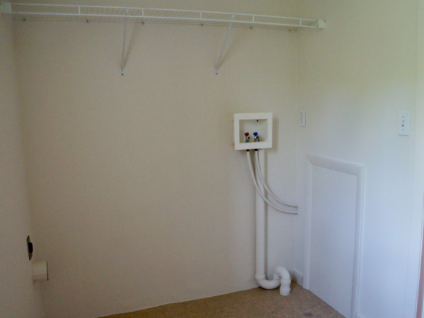 washer/dryer hookup stoney creek 1 bedroom